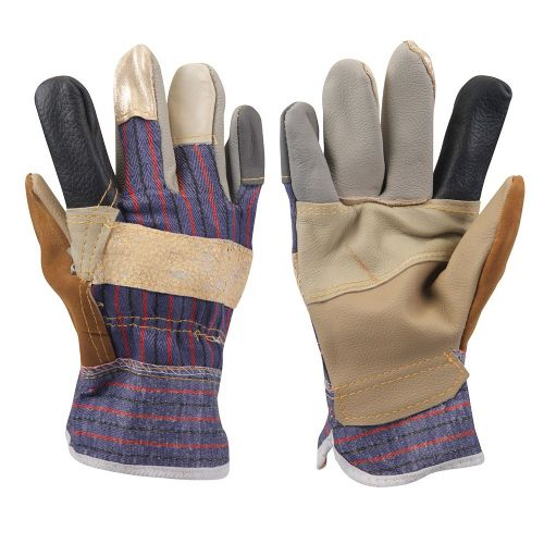 Silverline 633603 Furniture Rigger Safety Work Gloves Large